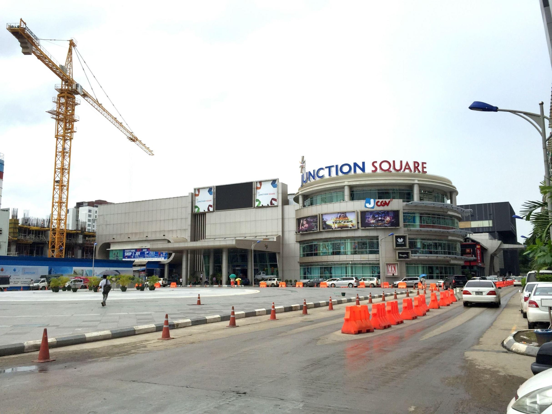 ヤンゴンのららぽーと的な、「ジャンクション・スクエア」に行ってきました
