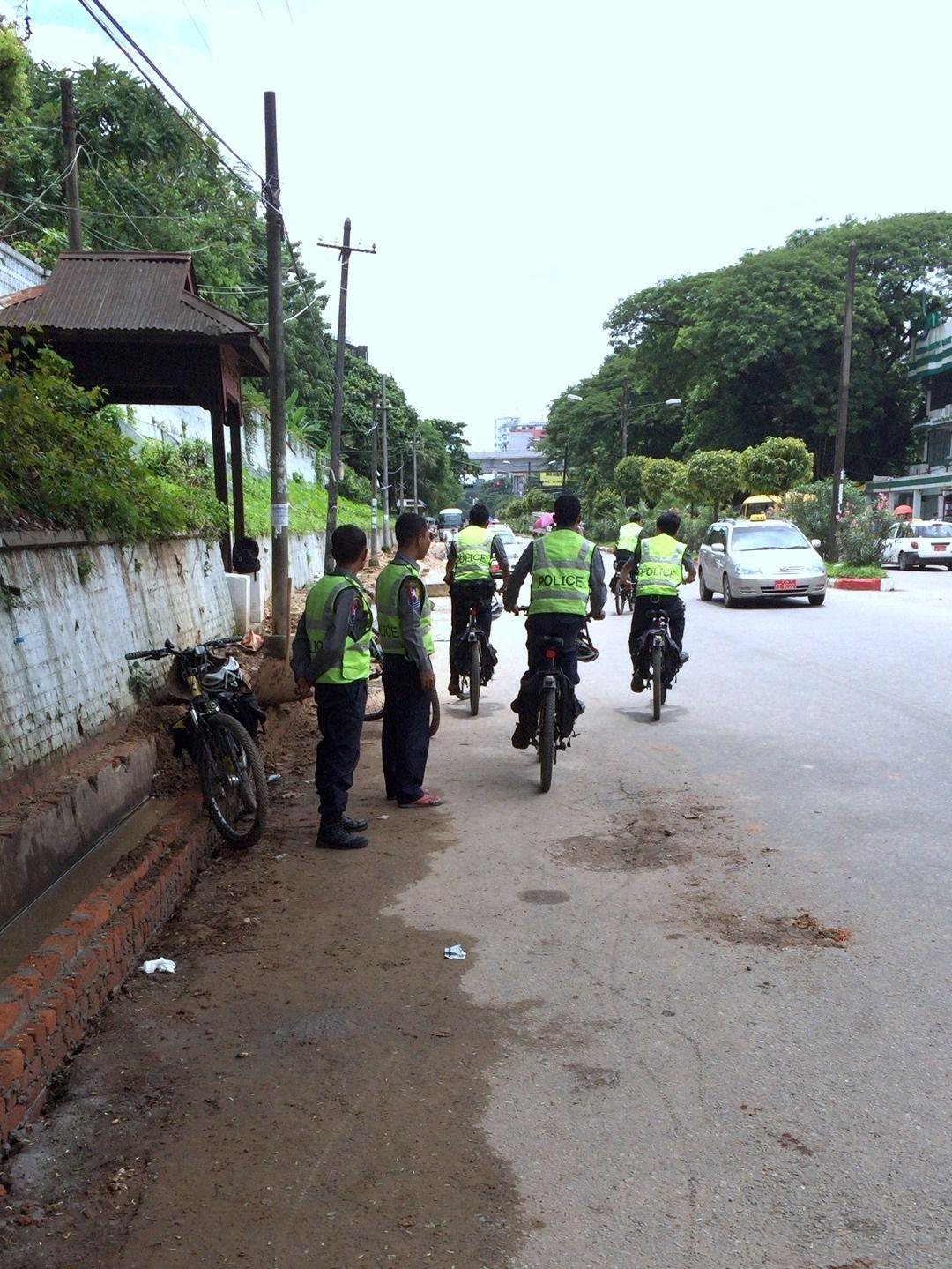 ヤンゴン警察の怖い話