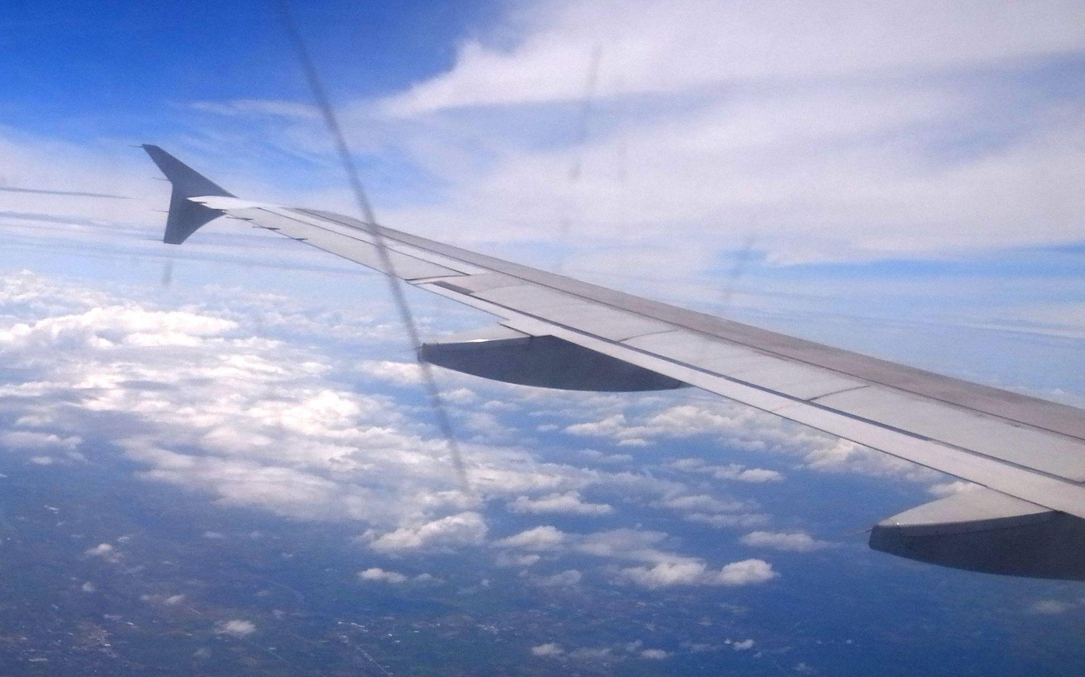 空路、ヤンゴンからバンコクへ(Air travel from Yangon to Bangkok)
