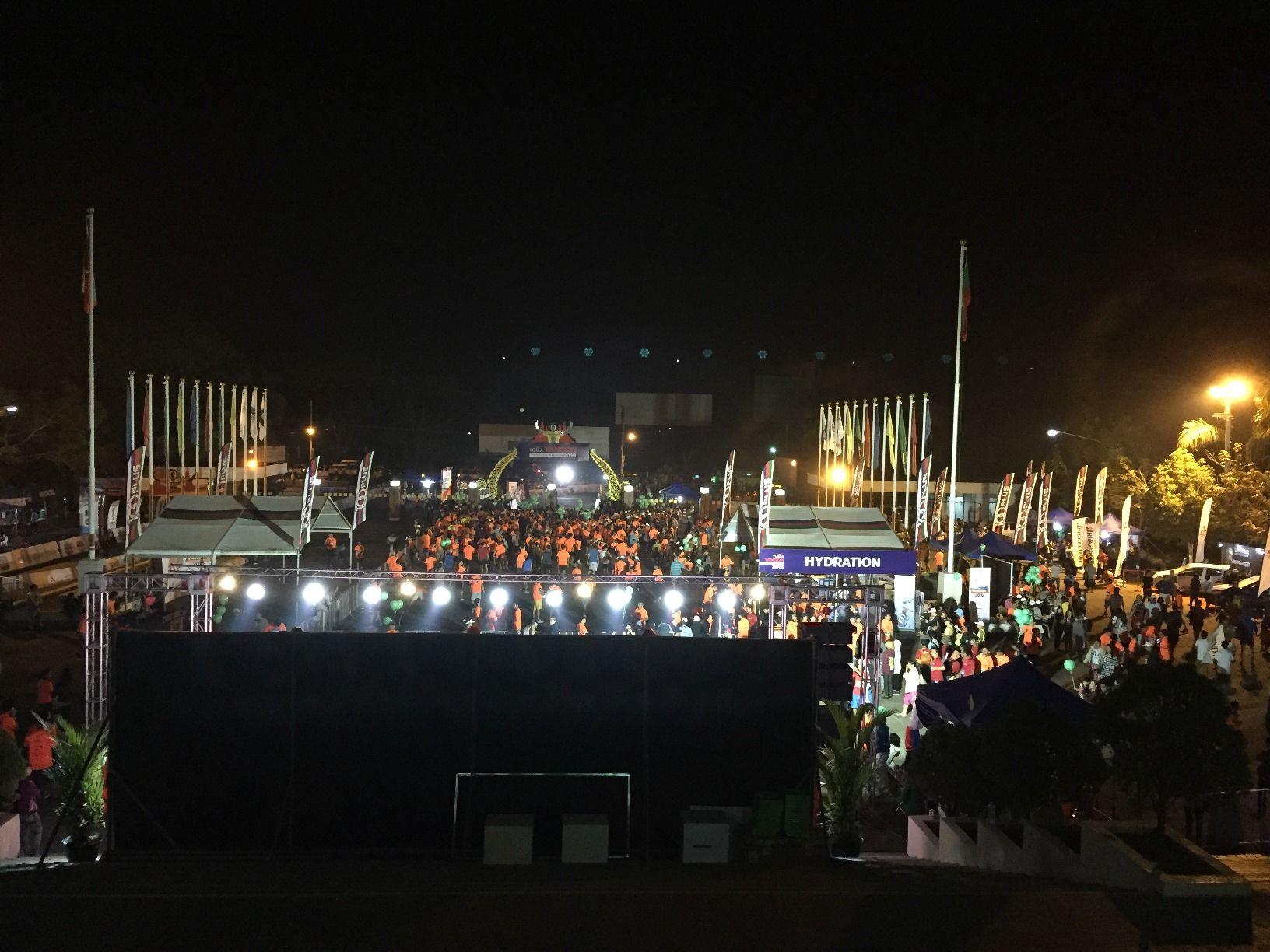 Yoma Yangon International Marathon 2016 感想