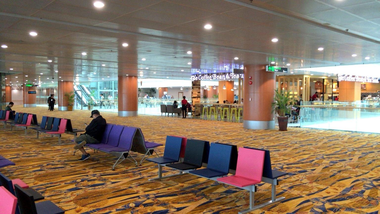 ヤンゴン国際空港の新ターミナル