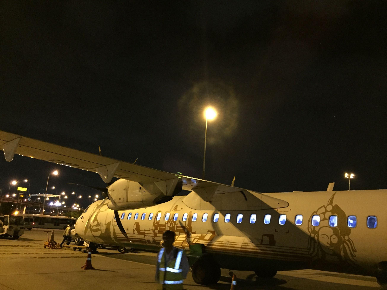 バンコクからヤンゴン小旅行の帰りはバンコク・エアウェイズ