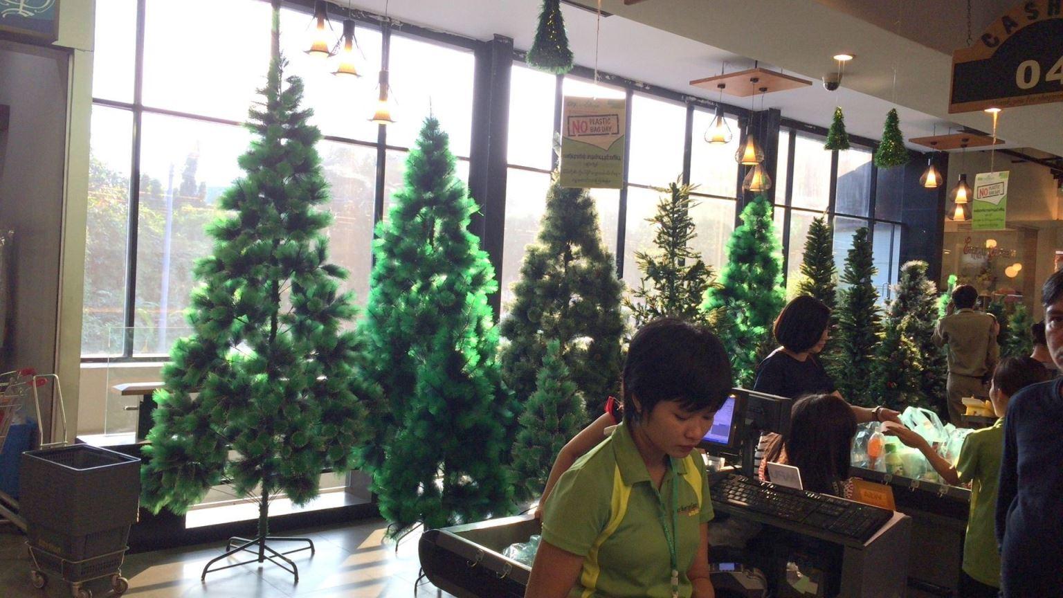 ミャンマーでクリスマスは盛り上がるのか