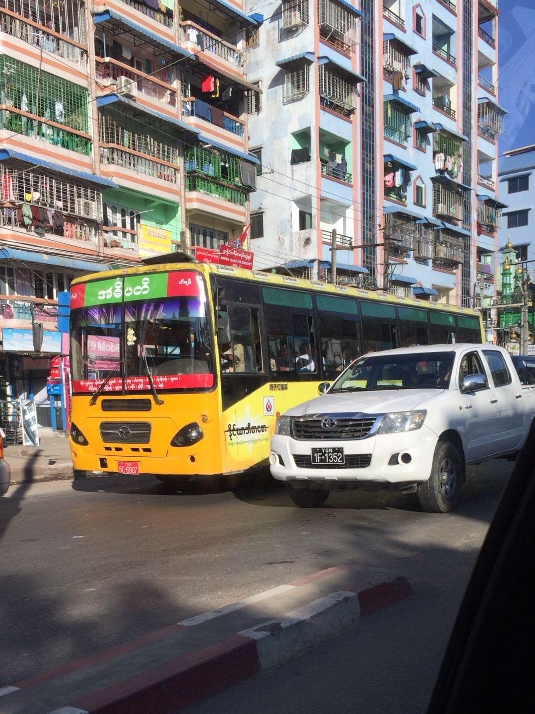ミャンマーの交通死者数が増加傾向