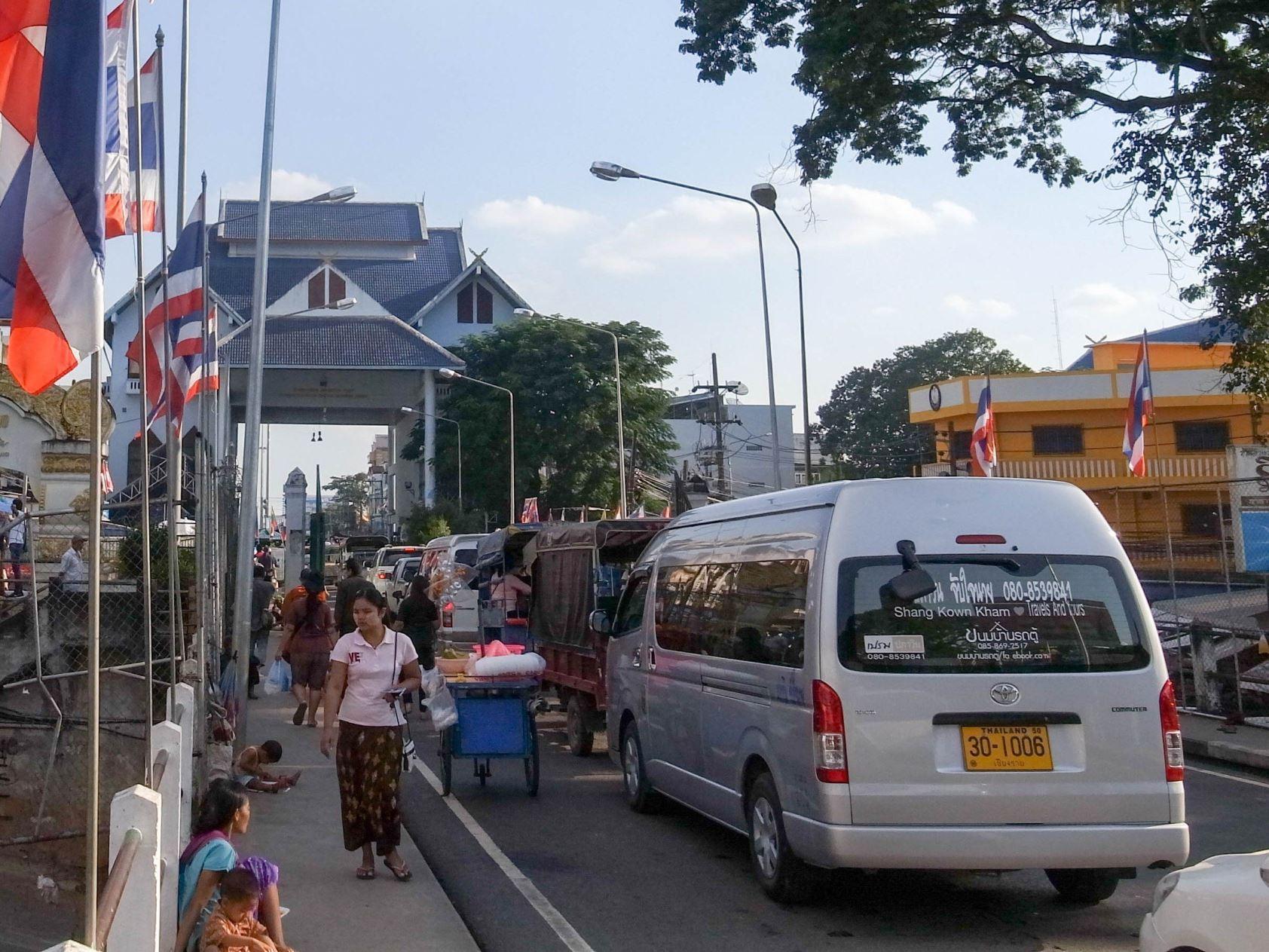 ミャンマー・タイ国境@タチレク(Myanmar Thailand border @Tachileik)