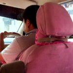 ハローキティなタクシー