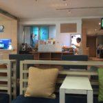 スワンナプーム国際空港にあるバンコク・エアウェイズの空港ラウンジ